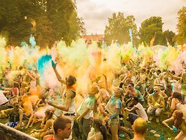 HOLI GAUDY - colour your day - DARMSTADT
