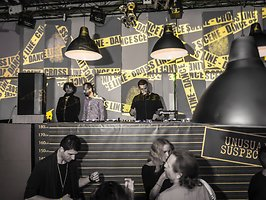 UNUSUAL SUSPECTS opening party