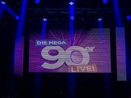 Die MEGA 90er LIVE - Das Konzert - Hamburg